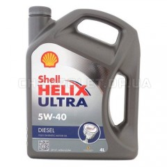 Масло моторн. SHELL Helix Diesel Ultra SAE 5W-40 CF (Канистра 4л)